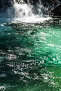 A Cachoeira da Formiga tem uma das águas mais lindas que eu já vi.